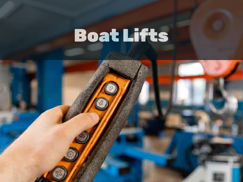 Wiring a boat lift